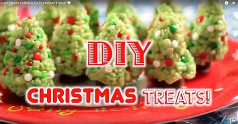 last minute christmas treats recipes video diy ready