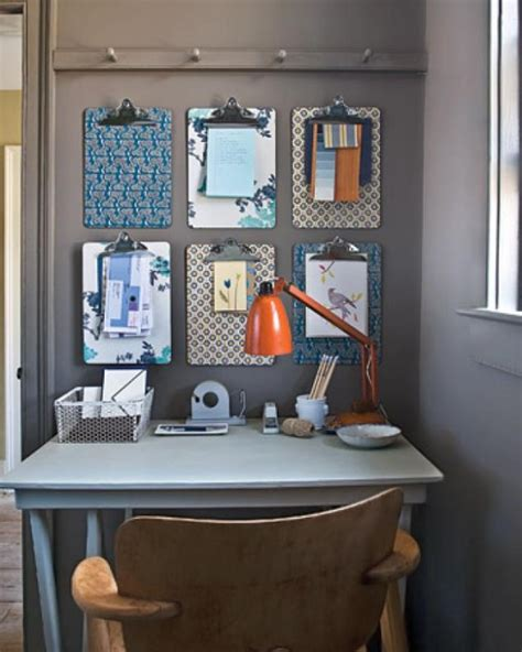 diy office decorating ideas chic stylish ways to organize your home office