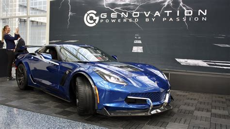 genovation gxe electric chevy corvette top speed