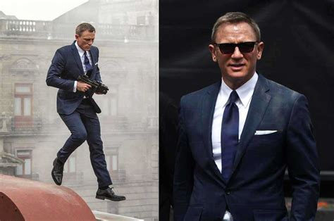 Bond Wardrobe by The Evolution Of Daniel Craig Style Bond Suits