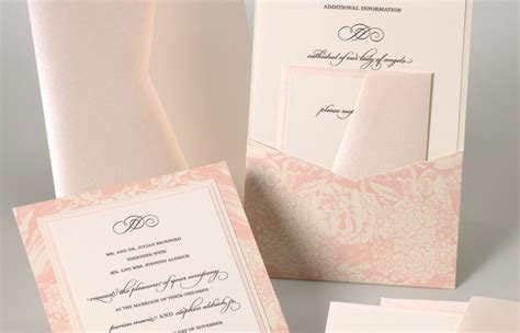 how to put tissue paper in wedding invitations how to stuff wedding invitations with everafterguide