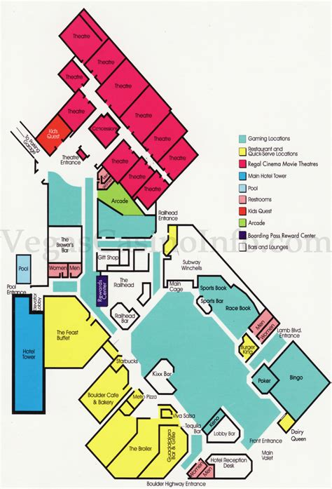 red rock casino floor plan las vegas casino property maps and floor plans