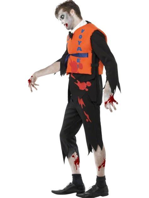 Lost At Sea Zombie Lifejacket Malestume Halloween