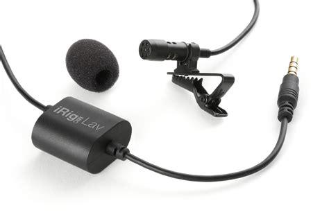 Irig Mic By Sennheiser Tangcity ik multimedia irig mic lav microphone buy