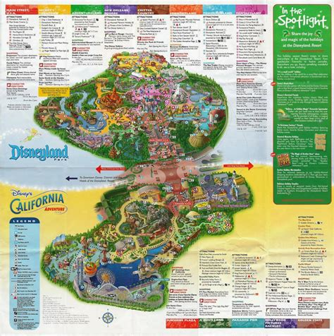 disney california adventure map rambling january 2014