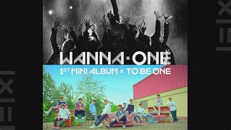 Wanna One 1st Mini Album To Be One Pink Ver Sky Ver wanna one go wanna one 1st mini album 1x1 to be one m v teaser 170803 ep 3