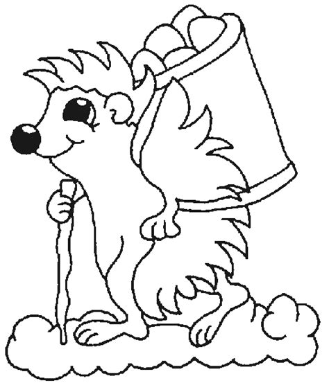 coloring page of a hedgehog hedgehog coloring pages coloringpages1001 com