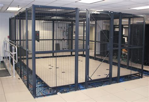 secure storage cages wire partitions industrial