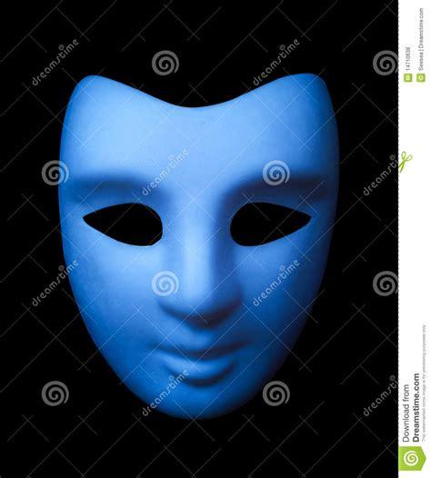 imagenes de jack mascara azul m 225 scara azul foto de archivo imagen de negro azul