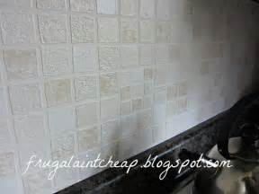 hometalk easy and inexpensive kitchen backsplash