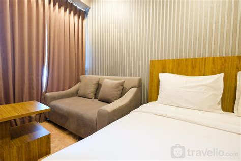 sewa apartemen grand kamala lagoon  furnished studio