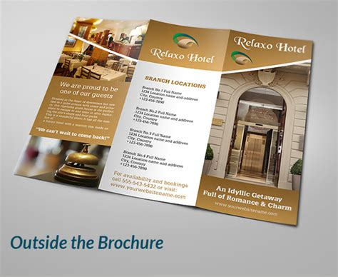 restaurant brochure designs templates exles creative