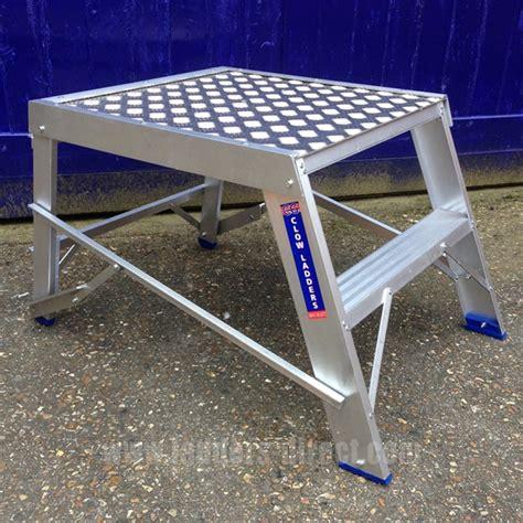 aluminum step bench clow heavy duty aluminium step bench