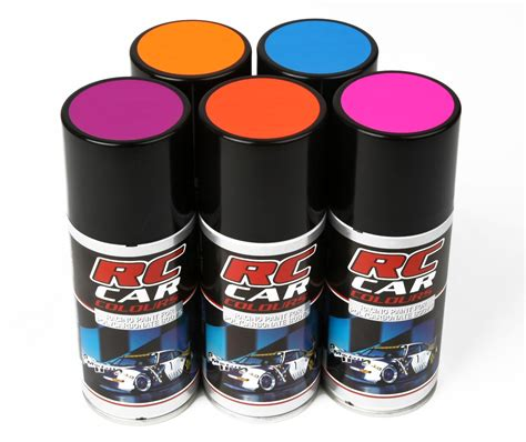 Sprei No 12 Cars fluo sprays for lexan rc cars rc parts and rc accessories