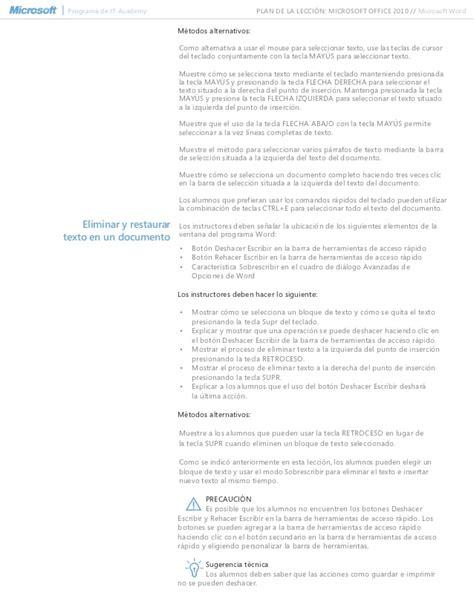 lesson plan template word 2010 spanish microsoft word 2010 lesson plan