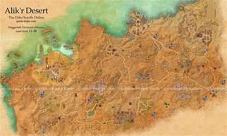 alik r desert map the elder scrolls maps