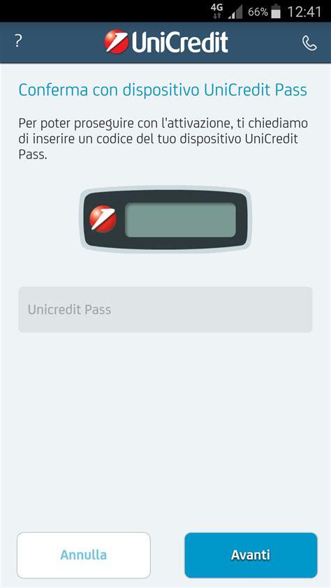 unicredit sito mobile riattivazione dell app mobile banking