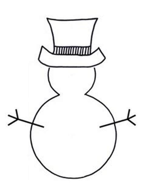 cotton ball snowman printable template templates on pinterest 125 pins on templates feltro and
