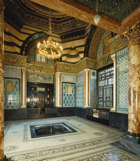 islamic design house london chapter 9 exoticism interior design arab hall lord leighton house 1865 london