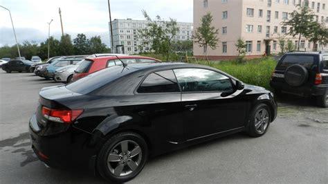 Kia Cerato Koup Black Kia Cerato Koup черный 1 6 Drive2