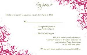 wedding response card template wedding response card template lilbibby