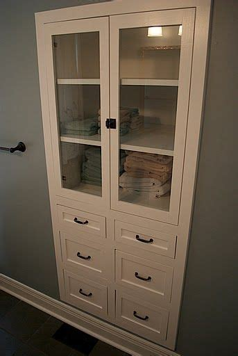 Bathroom Linen Closet Doors 25 Best Ideas About Built Ins On Built In Shelves Master Bath Remodel And Recessed