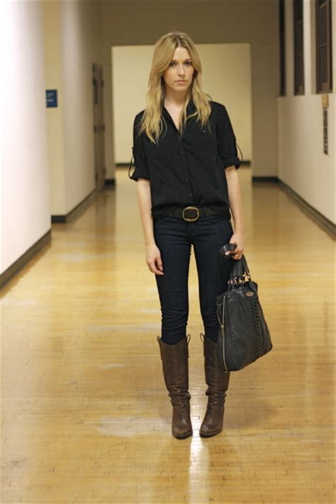 black shirts brown steve madden boots blue makers of
