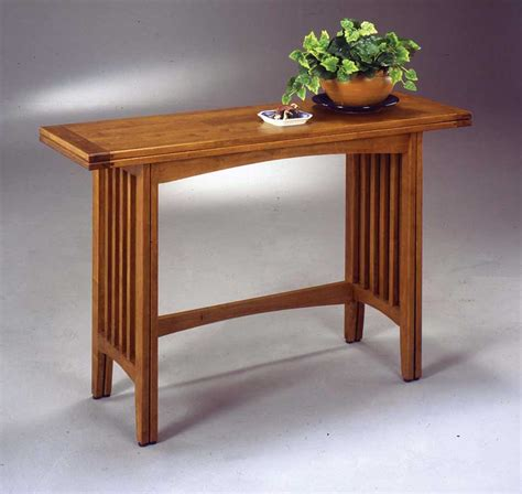 mission style sofa table oak home styles mission style convertible sofa table buffet