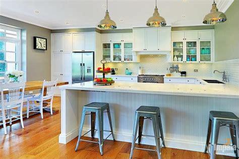 Shaker Kitchen Island hamptons style kitchens in sydney hampton style kitchen