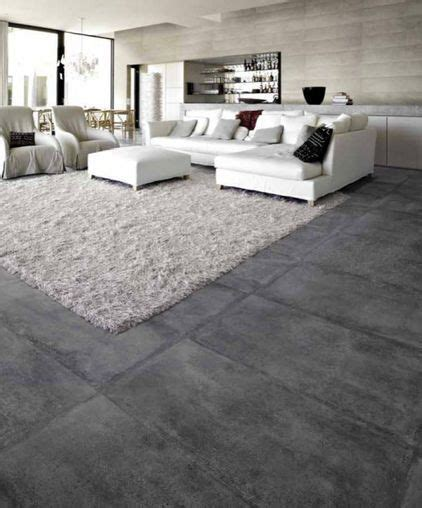 Floor Ls Living Room by Tile Living Rooms And Concrete Floors On