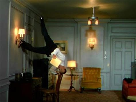 Fred Astaire On The Ceiling by Retro Active Critiques From White Socks To A Rhinestone