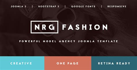 Nrgfashion Model Agency Fashion Template Model Agency Template