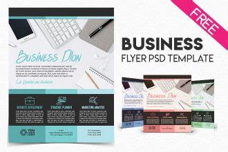 small business flyer templates free free psd templates mockups flyer and brochure