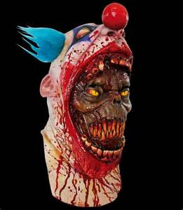 Scary Clown Mask Halloween Costumes 2017 September 2014