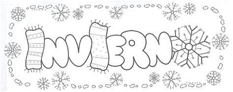 imagenes invierno para pintar invierno laminas para pintar