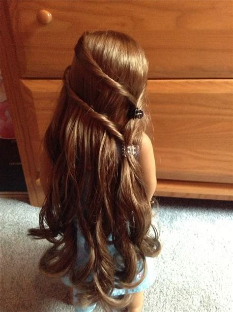 easy hairstyles for your american ag doll hairstyles doll hairstyles ag