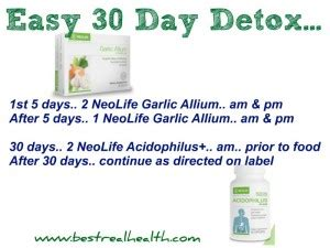 Neolife Healthy Detox by Probiotics Healthy Critters Immune Response Best