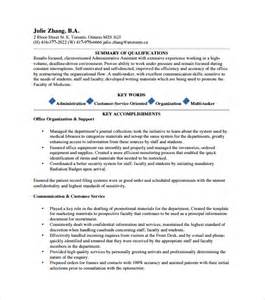 executive assistant resume 6 free samples examples