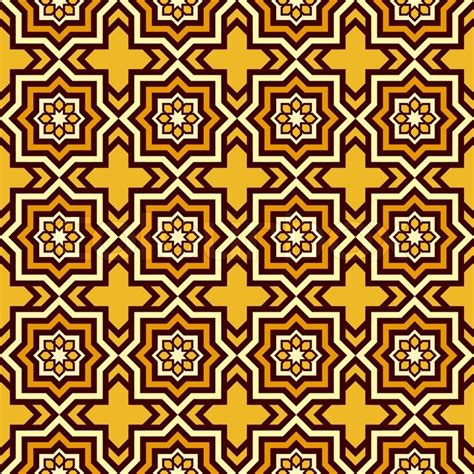 geometric pattern vector islamic islam style background geometric seamless pattern