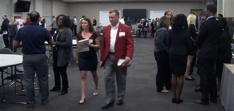diverse reverse career fair turns  tables  employers