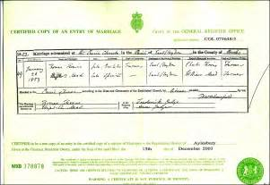 Marriage certificate sample uk plymouth dome uk marriage certificate sample certificate234 yadclub Image collections