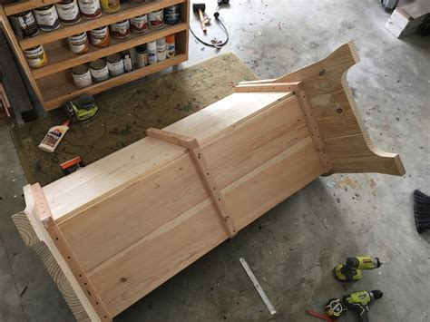 church benches design how to build a church pew free diy plans rogue engineer