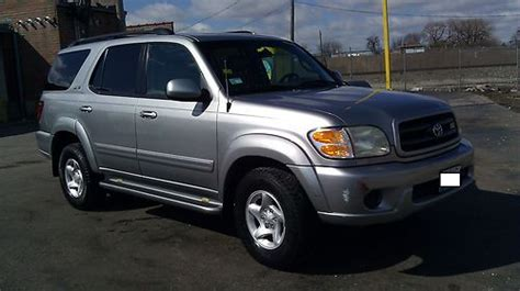 how cars run 2001 toyota sequoia electronic valve timing buy used 2001 toyota sequoia sr5 sport utility 4 door 4 7l silver full leather power in chicago