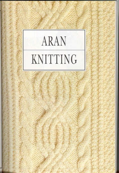 Aran Knitting Pattern Book The Entire Book With Great