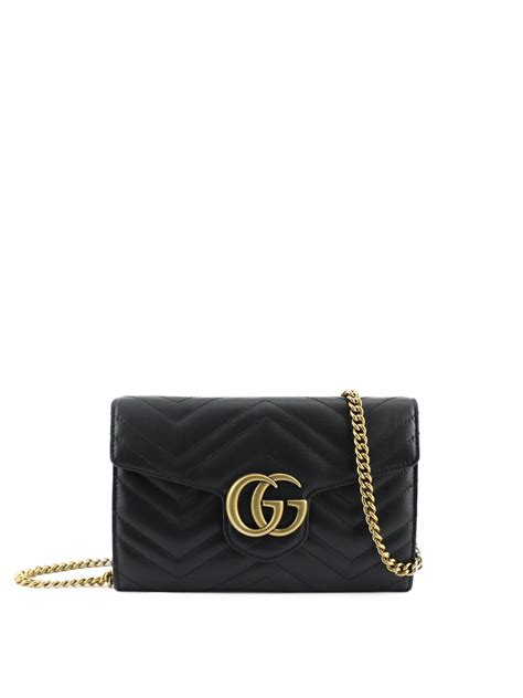 New Gucci Gg Marmont Quilted Original Leather Bag gg marmont quilted leather clutch by gucci clutches ikrix
