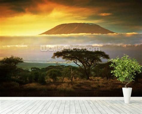 mount kilimanjaro kenya wallpaper wall mural wallsauce uk