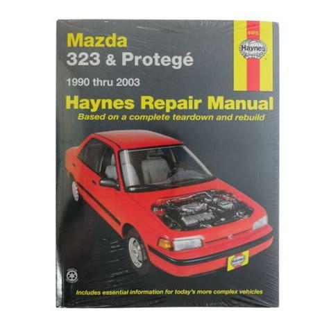 mazda 323 protege 1990 2003 haynes service repair manual 1990 00 mazda 323 protege haynes repair manual 1amnl00093 at 1a auto com