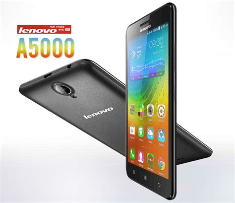 lenovo a5000 with a 4 000mah battery launched in the