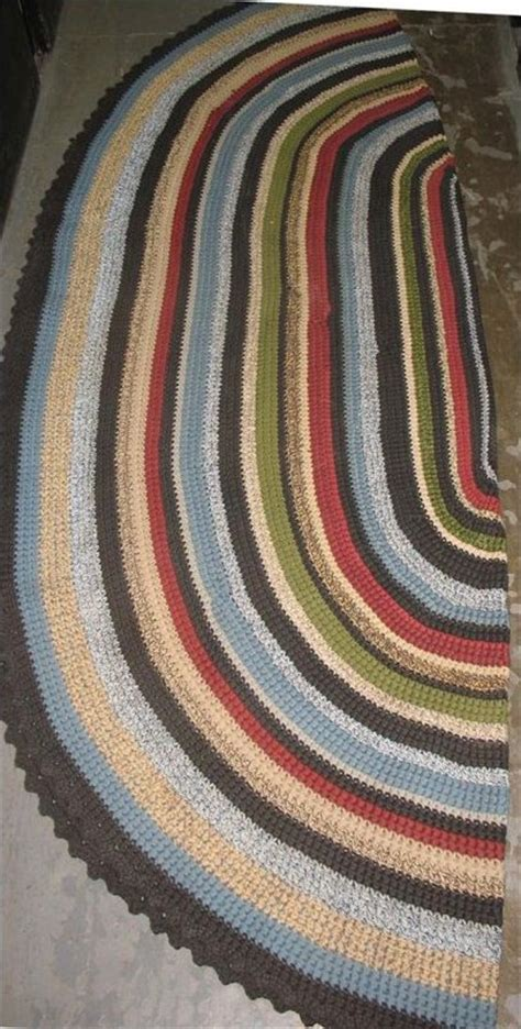 How To Crochet Oval Rug by Oval Crochet Rug Rugs Sale