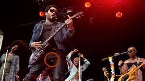 Lenny kravitz accidentally rocked his pants off on stage in sweden